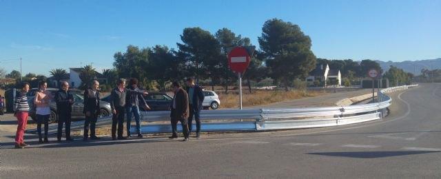 La Comunidad ejecuta obras de mejora de la seguridad vial en la carretera de la Estación de Puerto Lumbreras - 1, Foto 1