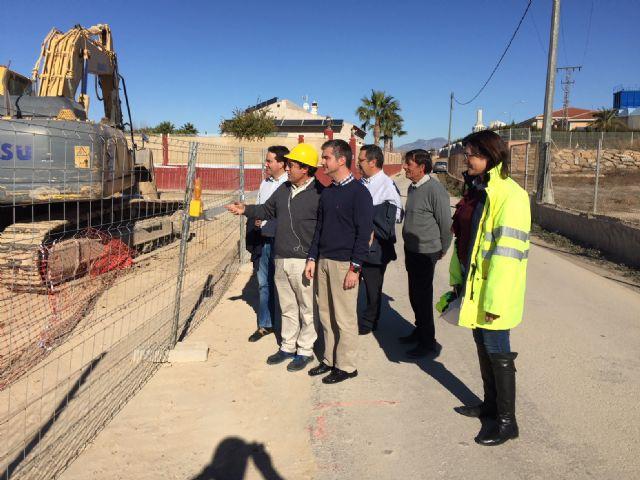 Obras para que los regantes de Ceutí puedan aprovechar el agua depurada de la EDAR de Las Torres de Cotillas - 1, Foto 1