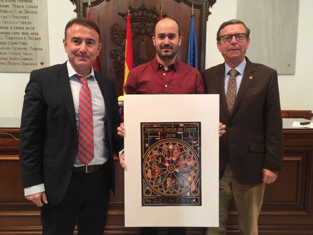 El arquitecto David Galbis Soto se impone en el VII Concurso de Carteles de Semana Santa de Lorca con su obra El arte de la Pasión - 1, Foto 1