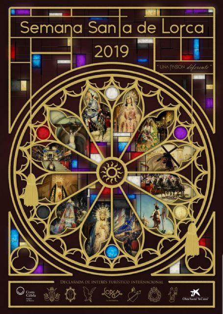 El arquitecto David Galbis Soto se impone en el VII Concurso de Carteles de Semana Santa de Lorca con su obra El arte de la Pasión - 2, Foto 2