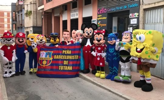La Peña Barcelonista de Totana extends the solidarity illusion project for the year 2019 - 2