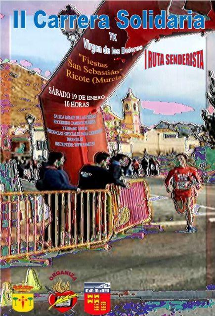 El sábado 19, Ricote repite su fiesta solidaria - 1, Foto 1