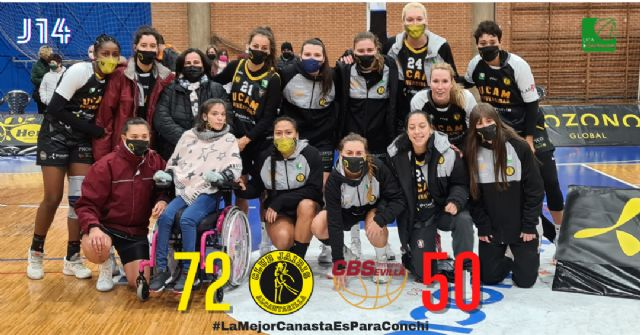 UCAM Primafrio Jairis cierra la jornada solidaria con victoria frente al Tecnigen Baloncesto Sevilla - 1, Foto 1
