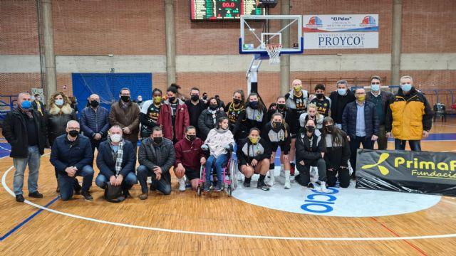 UCAM Primafrio Jairis cierra la jornada solidaria con victoria frente al Tecnigen Baloncesto Sevilla - 3, Foto 3