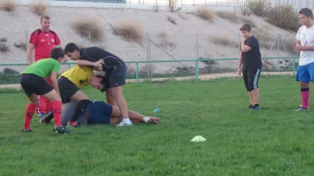 6 jugadores del CR Totana son convocados por las selecciones murcianas de Rugby sub-18 y sub-16, Foto 6