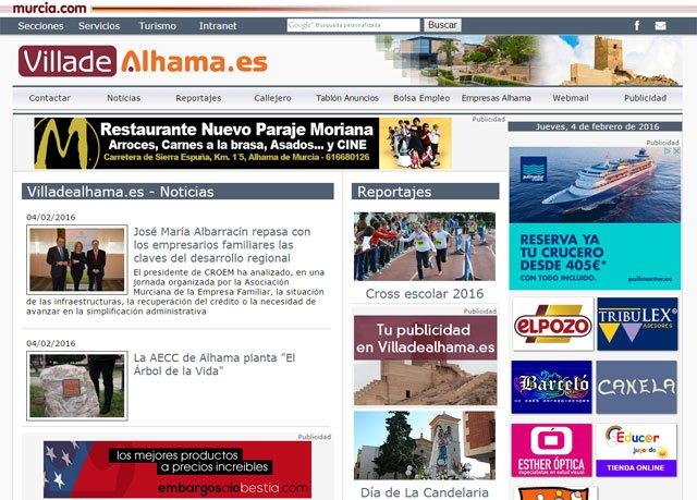 Villadealhama.es rediseña su web, Foto 1