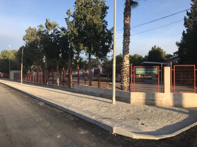 El colegio Eusebio Martínez ya cuenta con accesos adecuados - 1, Foto 1