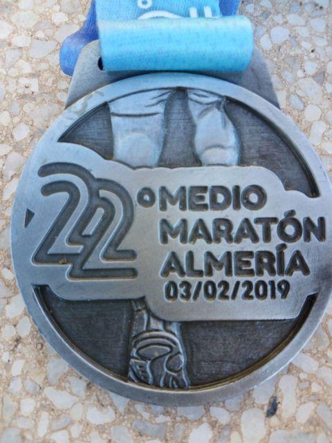 Participation of the Athletics Club of Totana in the XXII Half Marathon of Almería - 2