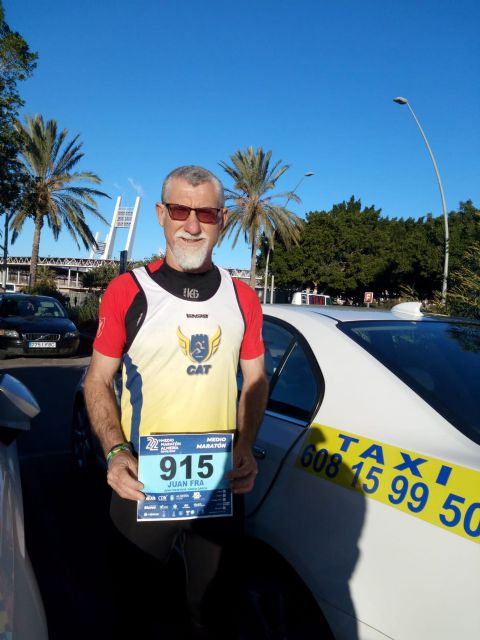 Participation of the Athletics Club of Totana in the XXII Half Marathon of Almería, Foto 3
