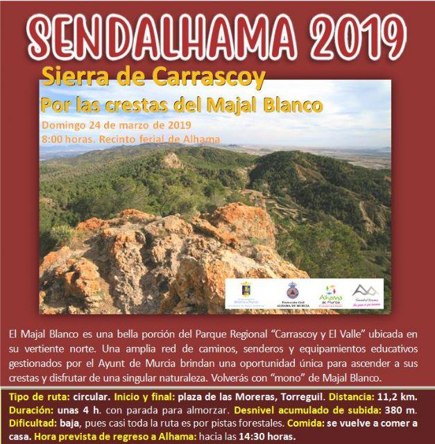 Abierto el plazo de inscripción para las dos primeras rutas de Sendalhama 2019, Foto 2