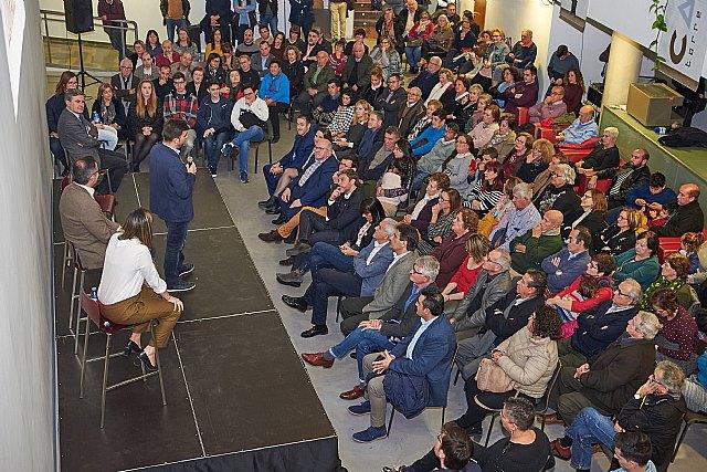 Diego Conesa y Pedro Saura arropan a Carlos López en su presentación como candidato a la Alcaldía - 2, Foto 2