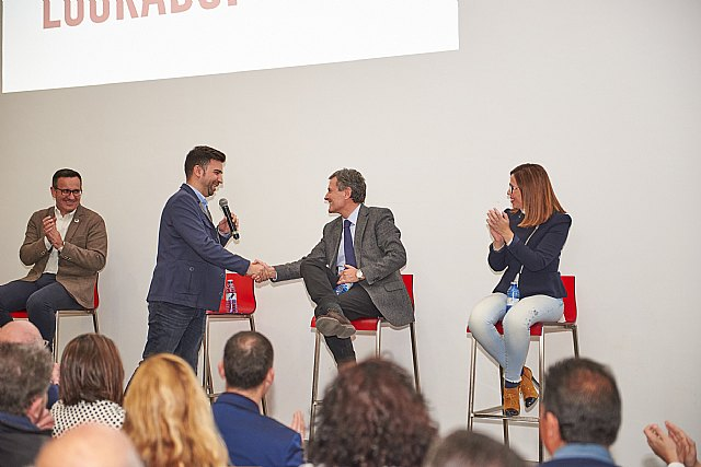 Diego Conesa y Pedro Saura arropan a Carlos López en su presentación como candidato a la Alcaldía - 3, Foto 3
