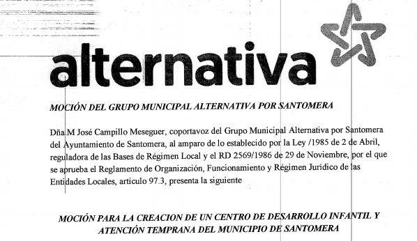 El pleno de Santomera aprueba la creación de un Centro de Atención Temprana en el municipio - 1, Foto 1