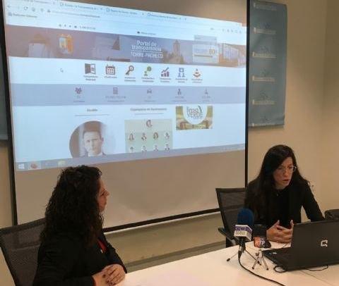 El ayuntamiento de Torre Pacheco presenta su nuevo Portal de Transparencia - 1, Foto 1