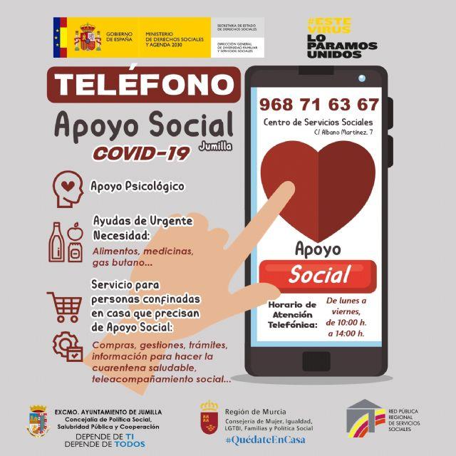 La Concejalía de Política Social tiene en marcha el Servicio de Dinamización Comunitaria Anticovid - 1, Foto 1