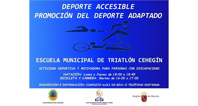 Cehegín pone en marcha la actividad deportiva accesible - 1, Foto 1