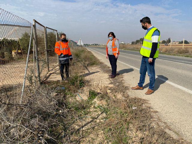 El Pleno Municipal solicita la adecuación de la carretera RM-F21 en el tramo Torre Pacheco-Roldán - 1, Foto 1