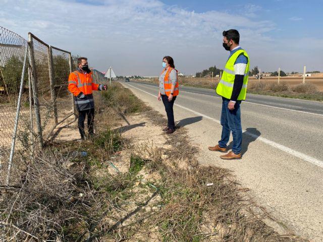 El Pleno Municipal solicita la adecuación de la carretera RM-F21 en el tramo Torre Pacheco-Roldán - 2, Foto 2