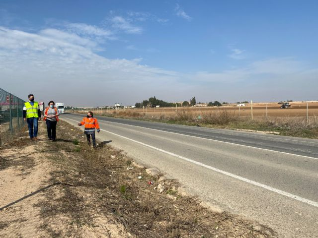 El Pleno Municipal solicita la adecuación de la carretera RM-F21 en el tramo Torre Pacheco-Roldán - 3, Foto 3