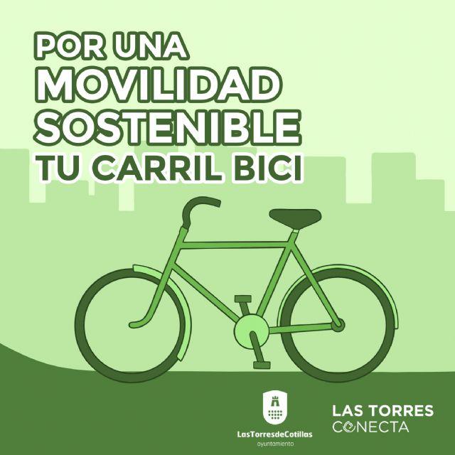 Un carril bici permitirá una movilidad más sostenible en Las Torres de Cotillas - 1, Foto 1
