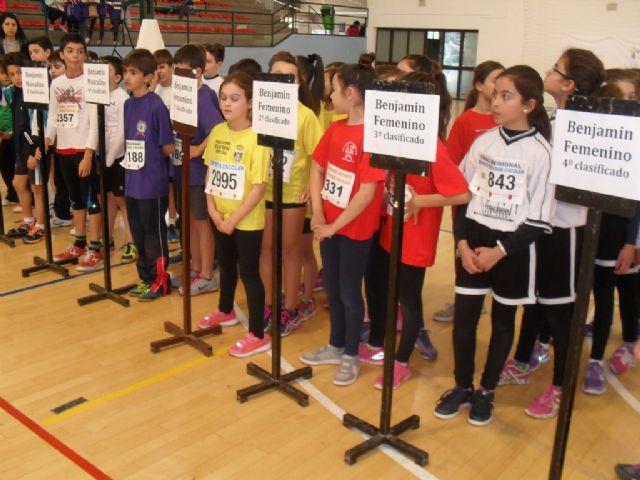 Totana acogió la Final Regional de Jugando al atletismo de Deporte Escolar, Foto 3