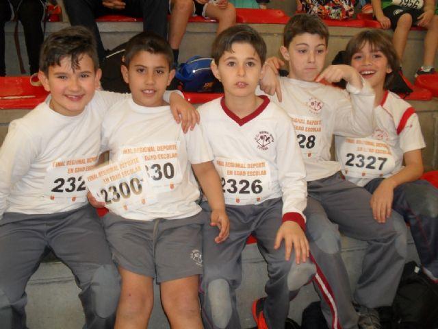 Totana acogió la Final Regional de Jugando al atletismo de Deporte Escolar, Foto 9