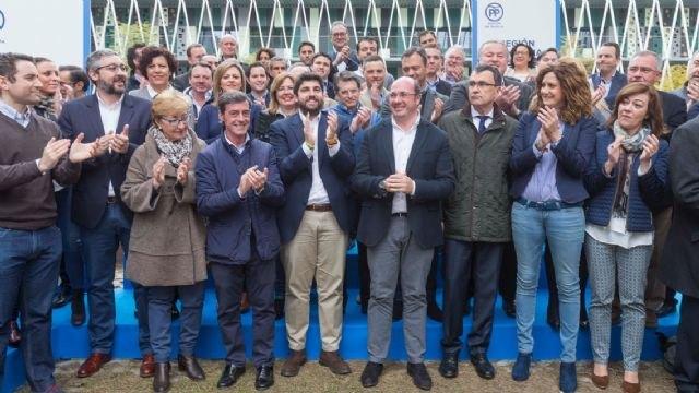 Pedro Antonio Sánchez: Somos el partido con las mejores ideas y centrado en lo que importa a la gente, Foto 2
