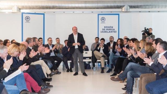 Pedro Antonio Sánchez: Somos el partido con las mejores ideas y centrado en lo que importa a la gente, Foto 4