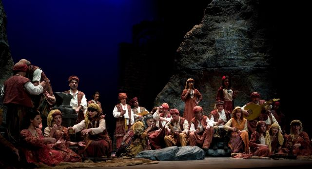 El Auditorio regional acoge la representación de la ópera 'Il Trovatore', con el murciano David Baños como protagonista - 1, Foto 1