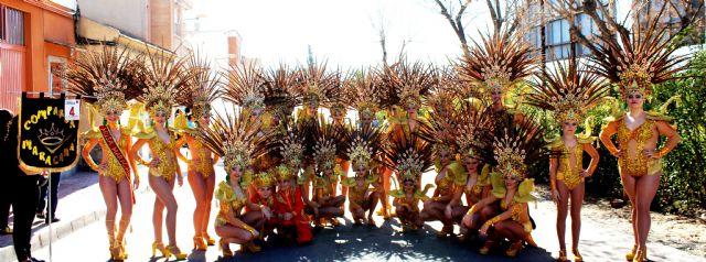 Alcantarilla celebró este domingo su gran desfile de Carnaval - 1, Foto 1