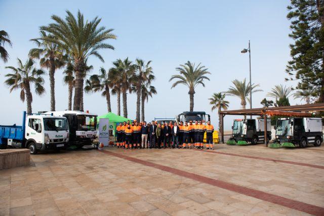 Un nuevo contrato de limpieza reforzará la actuación durante todo el año en Mazarrón, Puerto y pedanías - 2, Foto 2