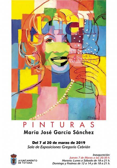 Tomorrow, the painting exhibition of María José García Sánchez opens - 1