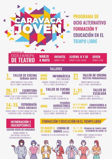 La Concejalía de Juventud del Ayuntamiento de Caravaca se reinventa y ofrece una decena de propuestas de ocio y formación para el tiempo libre dirigidas a niños y jóvenes - 1, Foto 1