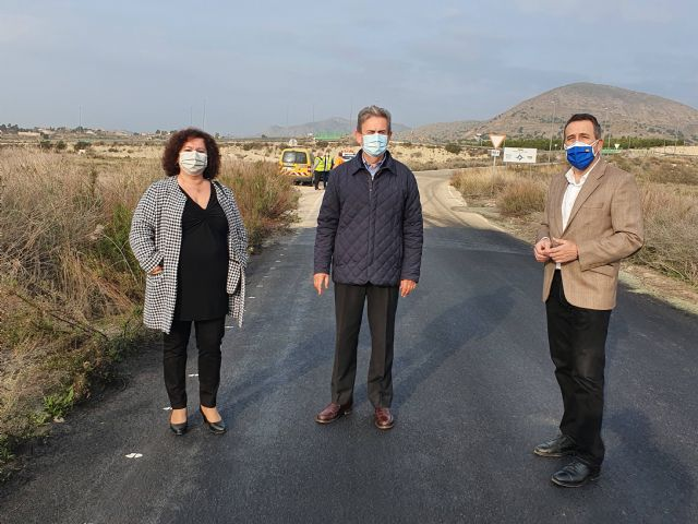 La Comunidad mejora la seguridad vial de la carretera que une Abanilla con los Baños de Fortuna - 1, Foto 1