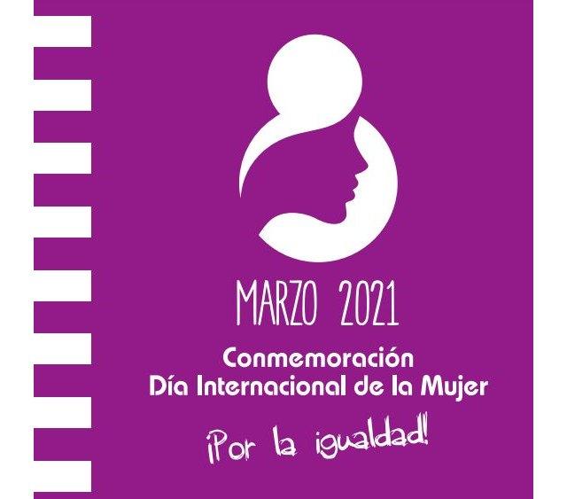 El programa de actividades de conciencación conmemorativas con motivo del Día Internacional de la Mujer serán telemáticas y se prolongarán durante la semana próxima, Foto 1