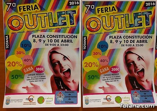 La VII Feria Oultet de Totana se celebra este próximo fin de semana en la plaza de la Constitución, Foto 3