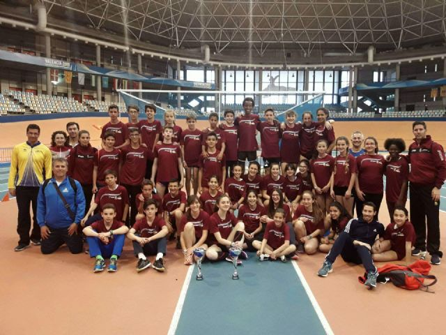 Presencia del Club Atletismo Alhama en el Cto. Interprovincial, Foto 1