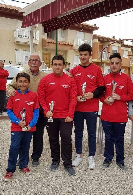 Los juveniles de Puerto de Mazarrón, campeones regionales de petanca, Foto 1