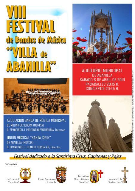 Abanilla celebra el VIII Festival de Bandas de Música Villa de Abanilla - 1, Foto 1