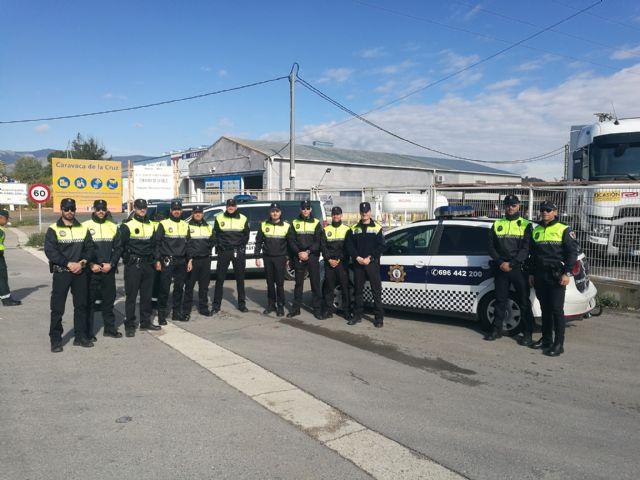 La policía Local de Calasparra se forma en la detección de drogas durante la conducción - 1, Foto 1