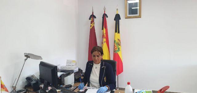 La alcaldesa de Archena solicita al Gobierno de España, a través del presidente de la Región, material de protección frente al COVID-19 para la policía local - 1, Foto 1