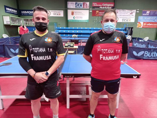 Resultados I Open autonómico Tenis de mesa. Club Totana TM - 1, Foto 1