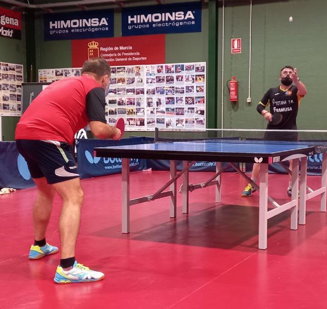 Resultados I Open autonómico Tenis de mesa. Club Totana TM, Foto 2