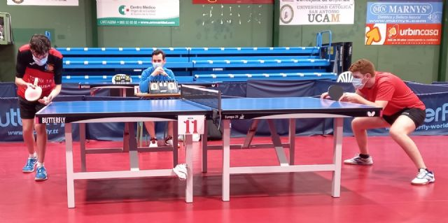 Resultados I Open autonómico Tenis de mesa. Club Totana TM, Foto 3
