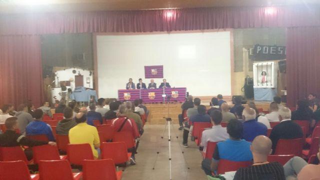 La fundación del FC Barcelona visita el Centro Penitenciario Murcia I, Foto 3