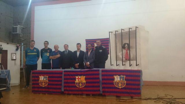 La fundación del FC Barcelona visita el Centro Penitenciario Murcia I, Foto 4