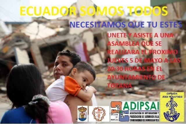 El Ayuntamiento y el Cabildo organizan una asamblea para coordinar actuaciones de ayuda a los damnificados por el terremoto de Ecuador, Foto 1