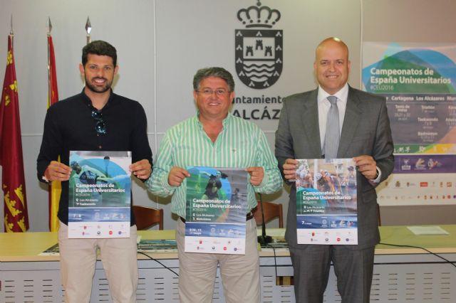 Más de cincuenta universidades  y cuatrocientos deportistas se dan cita la el próximo fin de semana en Los Alcázares - 1, Foto 1