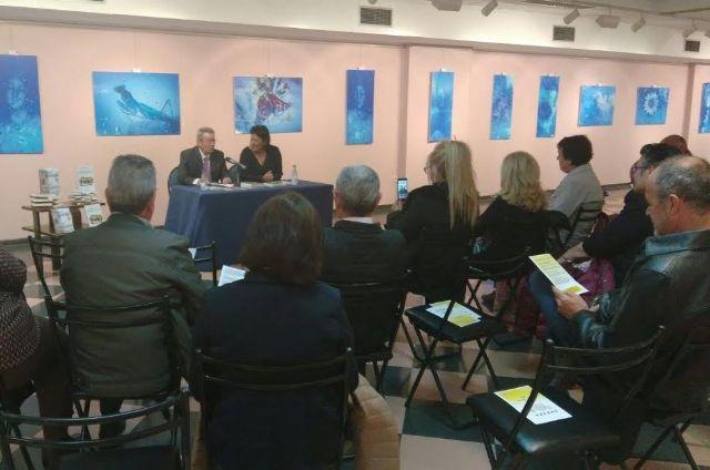 La Asociación Cultural Caja de Semillas continúa la ronda de presentación de libros y autores literarios con motivo del Día del Libro, Foto 1