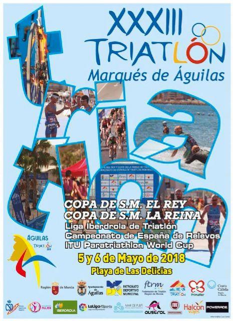 Águilas coronará a los Campeones Regionales de Triatlón por equipos, Foto 1